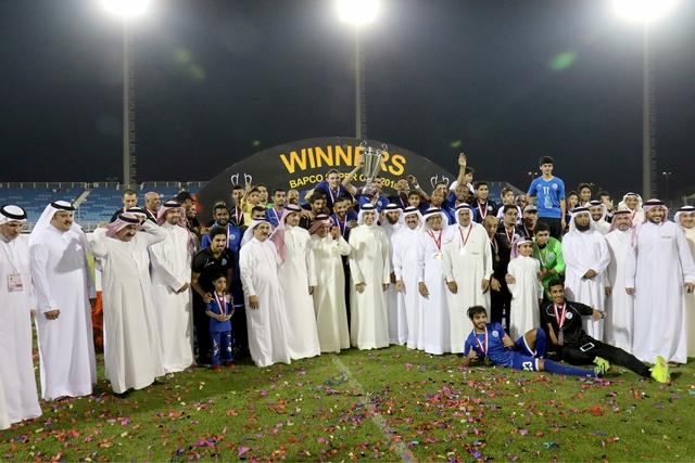 فريق الحد بطل كأس السوبر - تصوير : عقيل الفردان