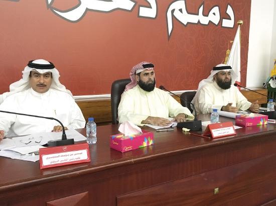 رئيس مجلس بلدي الجنوبية مستأنفاً أمس أولى جلسات الدور الثالث من الدورة البلدية الرابعة