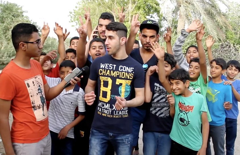 أحد المقاطع التي نشرها أحمد الشهابي