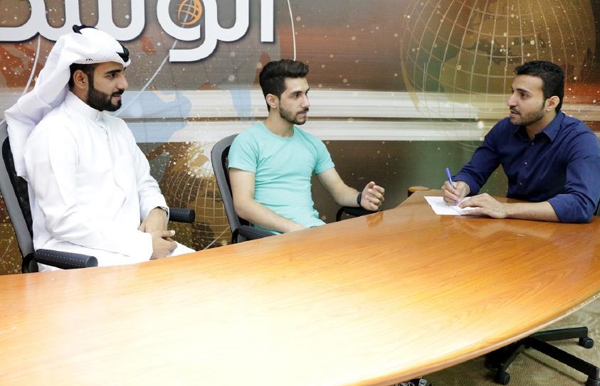 أحمد الشهابي ومحمد شاكر يتحدثان إلى «الوسط»