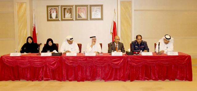 ملتقى القطاع الصناعي الذي عقد في الغرفة بمشاركة مسئولين من عدة جهات حكومية - تصوير : محمد المخرق