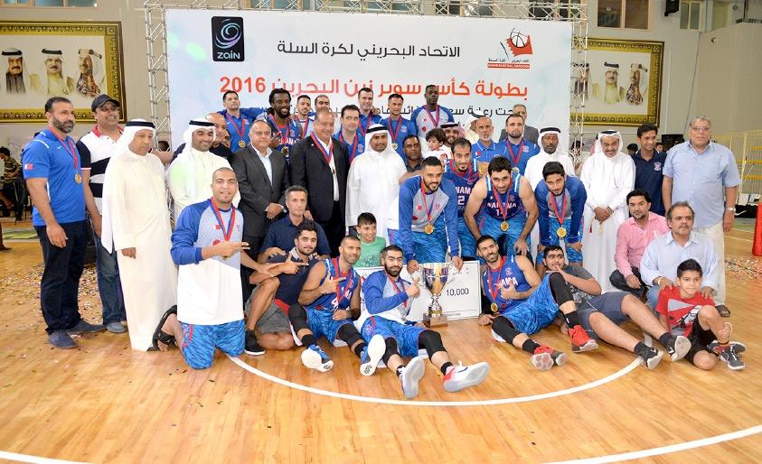 المنامة بطل كأس السوبر  2016
