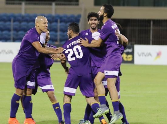فرحة اتحادية بالفوز على سترة - تصوير أحمد آل حيدر