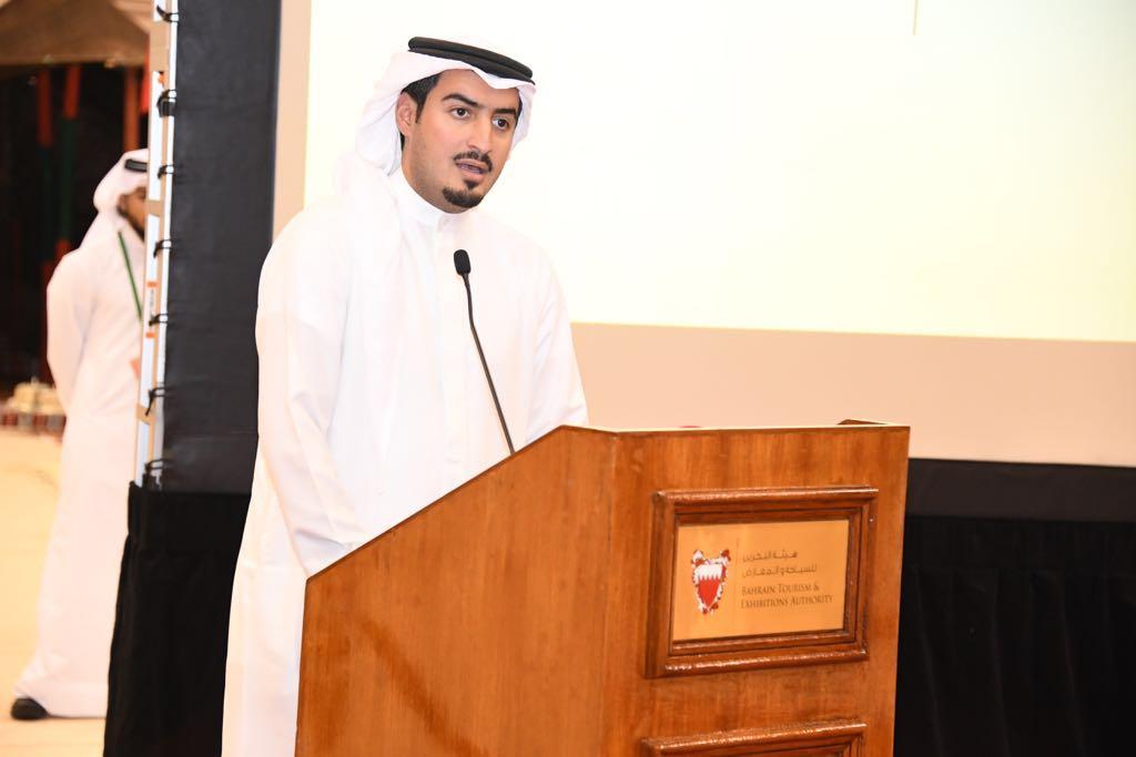الرئيس التنفيذي لهيئة البحرين للسياحة والمعارض الشيخ خالد بن حمود آل خليفة