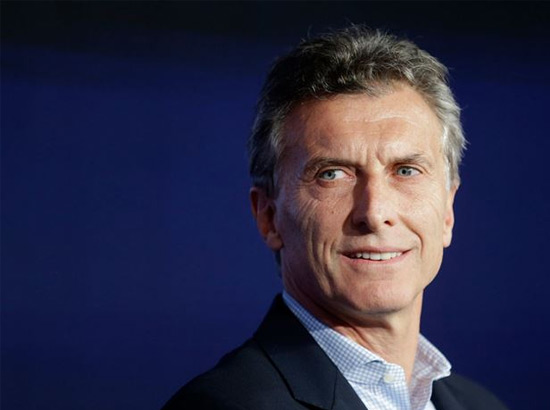 رئيس الأرجنتين، موريسيو ماكري