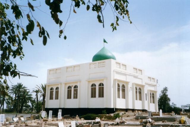مقام الخطيب العدناني في مقبرة أبو عنبرة