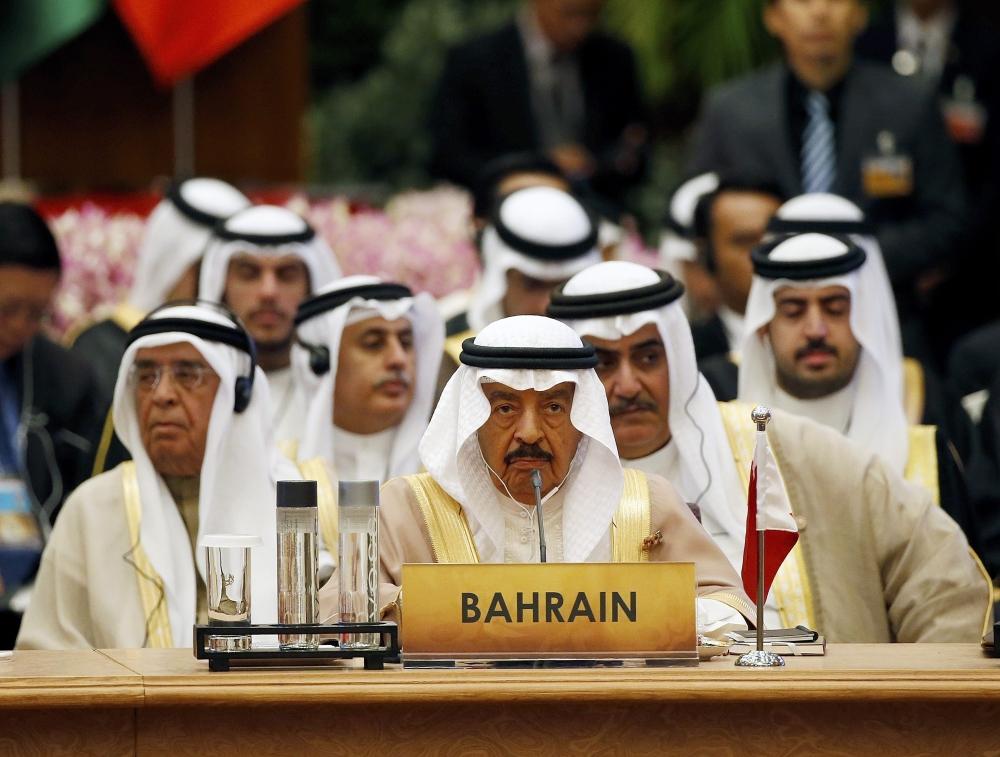 رئيس الوزراء خلال ترؤسه وفد البحرين في أعمال القمة الثانية لمنتدى الحوار الآسيوي (EPA)