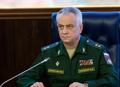 الفريق فيكتور بوزنيخير، النائب الأول لرئيس إدارة العمليات في هيئة الأركان العامة للجيش الروسي