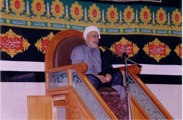 المرحوم الشيخ أحمد مال الله
