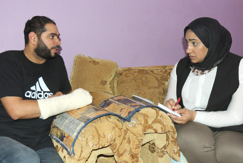 علي عبدالعزيز: إيقاف »الآيلة للسقوط » أحبط الكثير من الأسر - تصوير محمد المخرق