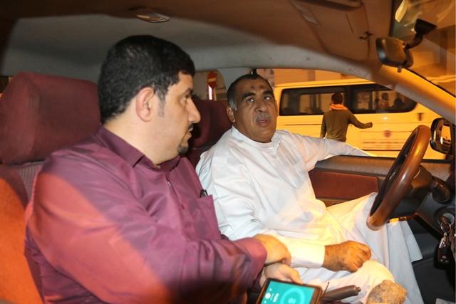 سائق التاكسي علي عباس: منافسة الآسيويين مستمرة