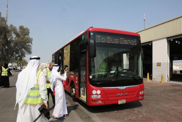141 حافلة نقل عام تجوب البحرين وتمر بـ 28 خط سير