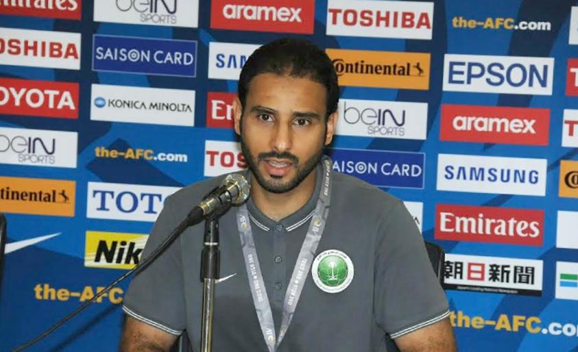 مدرب المنتخب السعودي سعد الشهري