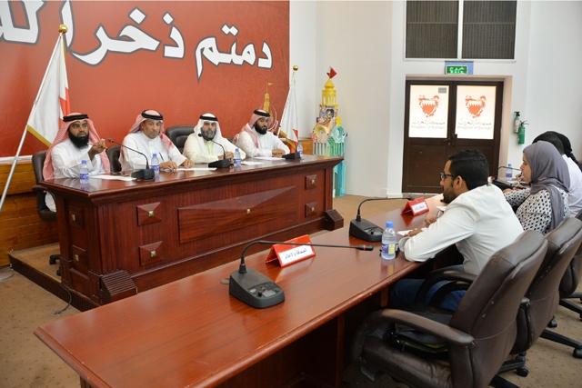 المؤتمر الصحافي بمجلس بلدي الجنوبية  - تصوير : أحمد آل حيدر