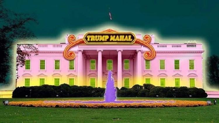 البيت الأبيض بعد استلام ترامب الرئاسة