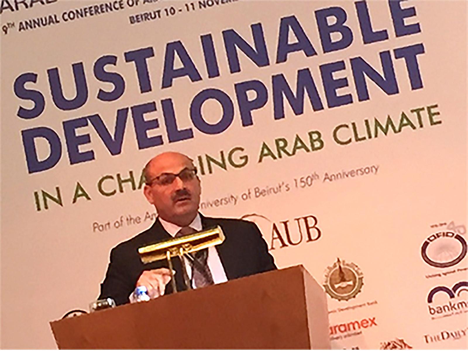 وليد زباري: لابد من دور التعليم والتربية لتحقيق أهداف التنمية المستدامة في الوطن العربي