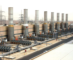 إحدى محطات الشركة السعودية للكهرباء