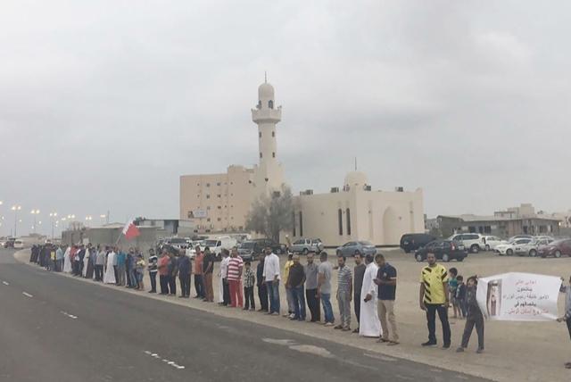 أصحاب طلبات في عالي لدى اعتصامهم أمس