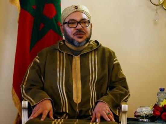 العاهل المغربي الملك محمد السادس في أديس أبابا يوم 19 نوفمبر/ تشرين الثاني 2016  - رويترز