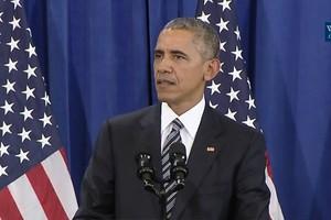اوباما: نحارب إرهابيين يدعون القتال باسم الإسلام. ولكنهم لا يمثلون المسلمين
