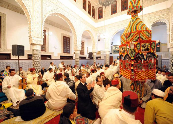 ابتهالات وأناشيد صوفية تميز احتفالات المغرب
