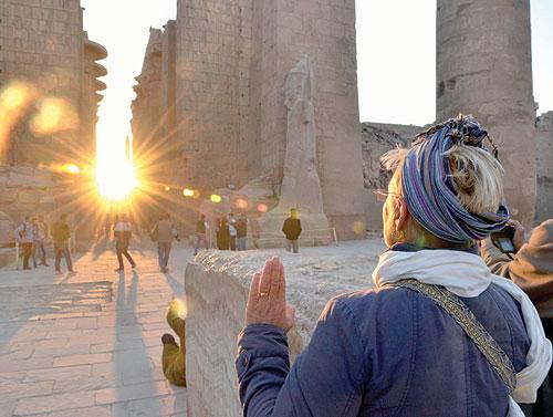 الأقصر المصرية  تحتفل ب