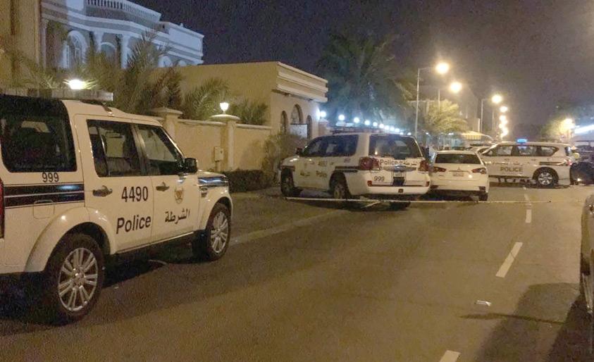 الشرطة في موقع الحادث