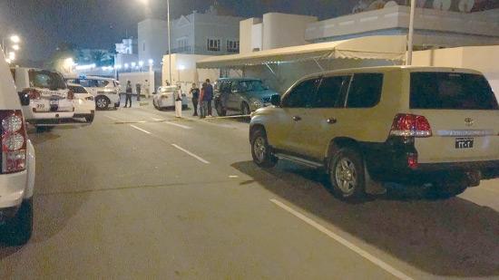 موقع مقتل البحرينية في الرفاع أمس الأول