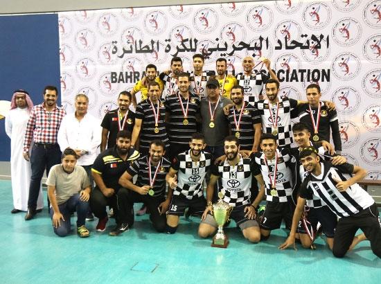 الأهلي بطل كأس الاتحاد للكرة الطائرة 2016 - تصوير عقيل الفرادن
