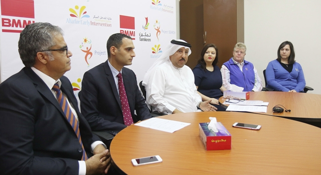 الإعلان عن تدشين مشروع تأهيل وتوظيف الأشخاص ذوي الاحتياجات الخاصة -  تصوير : محمد المخرق