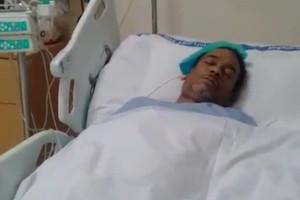 بالفيديو...زوجة الفنان خالد الذوادي: حالته الصحية تدهورت