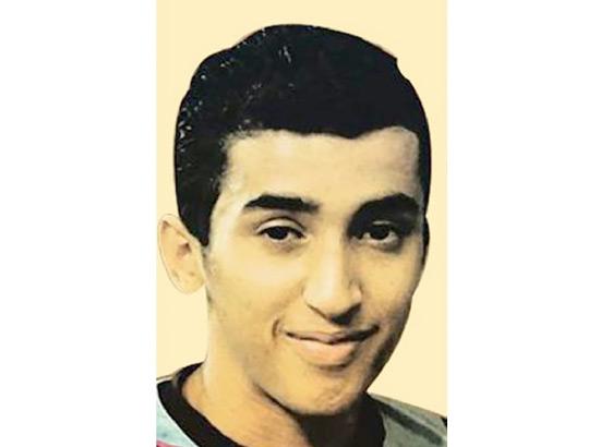 علي السنكيس «21 عاماً»