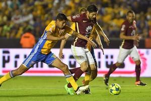 بالفيديو... تيغريز يفتتح أولى انتصاراته في الدوري المكسيكي 2017 على حساب أميركا