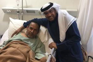 الفنان خالد الذوادي يخضع لعملية جراحية اليوم وعائلته تطلب من محبيه الدعاء
