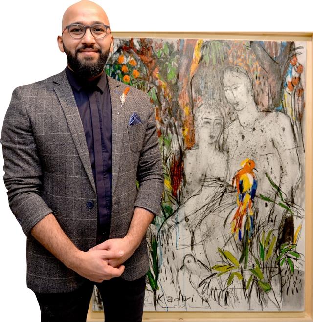 الفنان عبد القادري ولوحة «الوحدة»