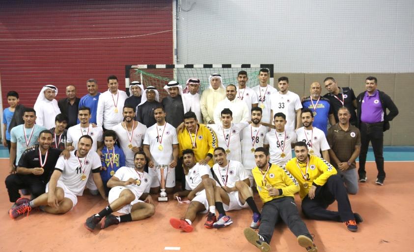 باربار بطل البطولة التنشيطية لكرة اليد - تصوير عقيل الفردان