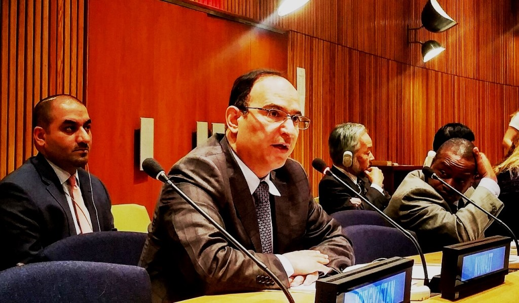 مندوب الكويت الدائم لدى الأمم المتحدة السفير منصور عياد العتيب