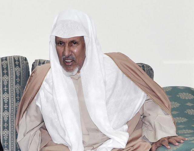 المرحوم الشيخ إبراهيم السعد