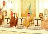 ولي العهد يلتقي نظيره السعودي ويؤكد الارتباط التاريخي بين البلدين