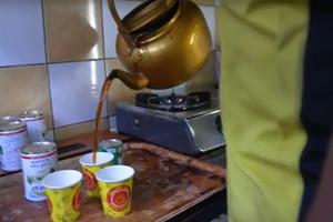 بالفيديو ... شاي كرك