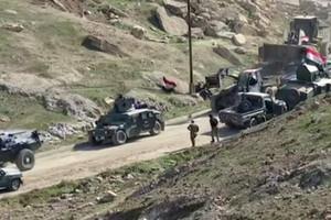 القوات العراقية تدخل مناطق في غرب الموصل