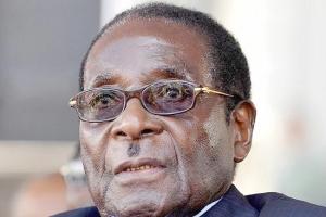 بالفيديو... روبرت موغابي