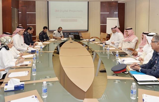 الاجتماع التنسيقي بين الأجهزة المعنية بتطبيق نقطة الدخول الواحدة بجسر الملك فهد