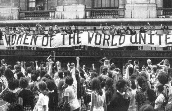 صور ارشيفية من احتجاجات النساء في نيويورك