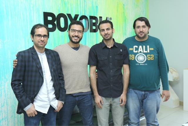 فريق العمل في boxobia