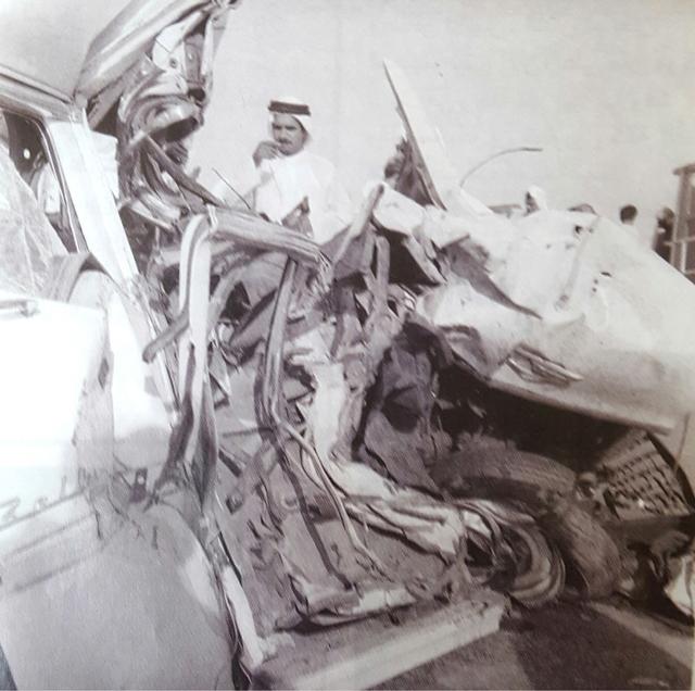 صورة لحادث آخر