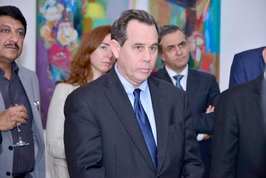 القائم بأعمال مساعد وزير الخارجية الأميركي - تصوير عقيل الفردان