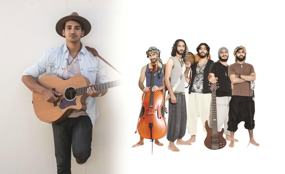 محمد زويد مع فرقة مجاز البحرينية في بوستر ربيع الثقافة
