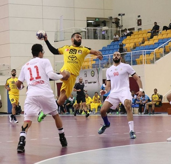 الصورة من حساب انستغرام الاتحاد البحريني لكرة اليد