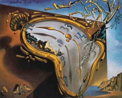 اللوحة للفنان الإسباني العالمي سلفادور دالي